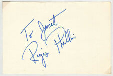 Regis Philbin Signed Autographed Index Card - from the Melchior Collection