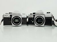 2 x Vintage 35mm Film Cameras; PRAKTICA MTL 5B & PRAKITCA MTL 3 - Body Only