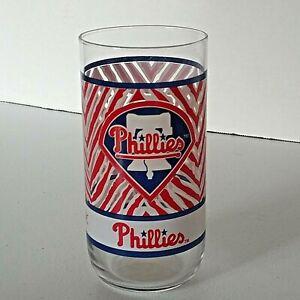 Vintage1993 Philadelphia Phillies Baseball MLB McDonalds Coca-Cola Glass