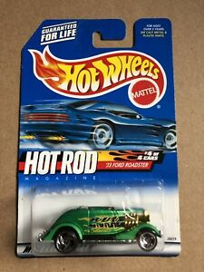 "2000 HOT WHEELS ""33 FORD ROADSTER""--HOT ROD MAGAZINE SERIES"