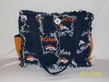 Denver Broncos Bronco NFL Rag Quilt Diaper Bag Tote Purse