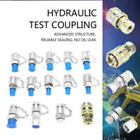 14pcs Hydraulic Pressure Test Point Coupling Adapter Set for Hydraulic System RH
