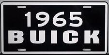 1965 BUICK METAL LICENSE PLATE RIVIERA WAGON ELECTRA LESABRE INVICTA SKYLARK GS