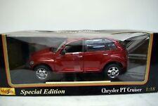 Maisto 1:18 531895 Chrysler Cruiser, rot, Die Cast