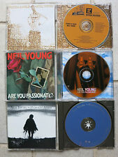 NEIL YOUNG - 3 CDs:  Silver & Gold CD  & Harvest Moon CD + Are You Passionate CD