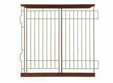 Richell EXPANDABLE PET CRATE DIVIDER MEDIUM (BROWN) 94353 NEW OPEN BOX