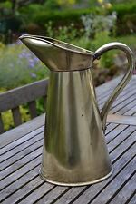 VINTAGE ARMY & NAVY CSL brass ewer water jug large early 20th century