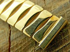 Bellavance Vintage Expansion Watch Band Yellow Gold Filled 14mm Ladies Pre-Owned