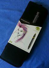 Prismacolor Premier Double End Brush/Fine Tip Marker Assorted Set of 24 w/Case