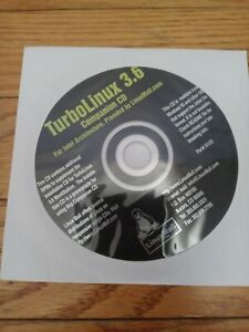 Vintage Turbolinux 3.6 companion Disc Only intel