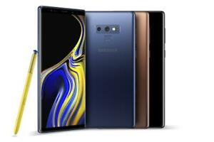 Samsung Galaxy Note9 SM-N960U1-128GB (AT&T/ T-MOBILE/ SPRINT/VERIZON) UNLOCKED