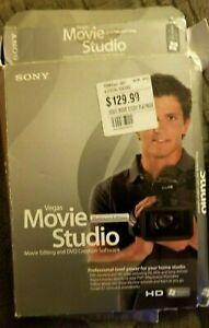 NWOT $129 OLDER Sony Vegas Movie Studio Platinum Edition WINDOWS XP OR VISTA