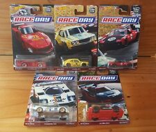 HOT WHEELS 2017 CAR CULTURE RACE DAY SERIES Full set of 5 - MAZDA RX3... (A+/A)