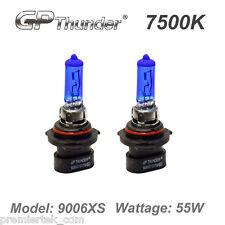 GP Thunder 7500K Xenon Quartz Halogen Light Bulbs White Pair 9006XS 55W