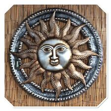 Bakers Handcrafted Metal Sun Face *Wall Art* Indoor/Outdoor* Stunning