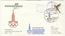 East Germany Olympische Spiele Olympic Games 1980 Olympic flight to Tallinn