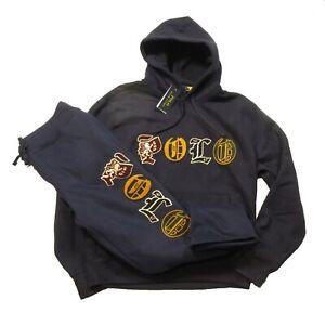 Polo Ralph Lauren Navy Embroidered POLO Logo Magic Fleece Hoodie & Pant Set