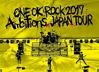 ONE OK ROCK 2017 Ambitions JAPAN TOUR Live Blu-ray F/S w/Tracking# Japan New