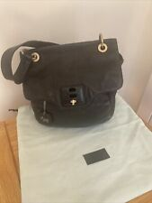 Immaculate RADLEY LEATHER HANDBAG Tote Bag Black Thick Leather & Dust Bag