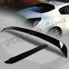 For Nissan Altima Coupe 2 Door Painted Black Rear Window Visor Roof Spoiler Wing