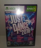Just Dance 2018 Xbox 360 Factory Sealed NEW Ubisoft Video Game