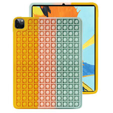 Multicolor Silicone Pop Fidget Toy Protective Case Cover For iPad Air(2020)/Air4
