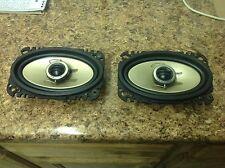 82-92 Camaro Firebird Front Dash Pioneer Speakers TS-A4615 Pair FREE SHIP 4x6