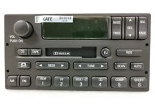 Ford cassette radio w/ RDS. OEM factory original stereo. F150-Van-Expedition +