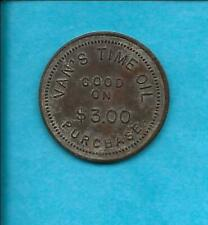 VAN'S TIME OIL - G/F 10 CENTS 0N $3.00 - TC-238576 PICTURED EXAMPLE - c11