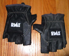 PMI Tactical Fingerless Rappel Rope Gloves, Black, Womens Small SM - Brand New