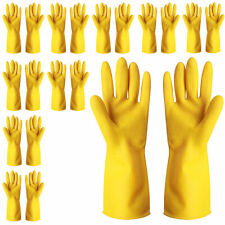 10 Pairs Reusable House Clean Gloves Work Dishwashing Kitchen For Cleaning
