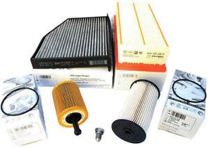 Original VW TDI Inspektionspaket Filter Golf 5 Jetta Passat CC 3C Touran Diesel