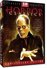 Horror Classics 50 Movie Pack (DVD, 2004, 12-Disc Set) - NEW!!