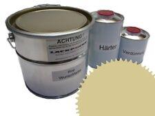 1,5 Set Litre 2K Revêtement de sol RAL 1000 Beige vert Glanz Peinture Atelier