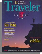 National Geographic Traveler - 1994, March - Best State Parks, Chicago, Tucson
