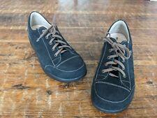 Finn Comfort Ikebukuro Black Leather Walking Comfort Shoes  US Womens 10 U.K 8