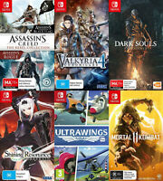 Nintendo Switch Game - Choose Your Own Title *Free Next Day Post from Sydney*