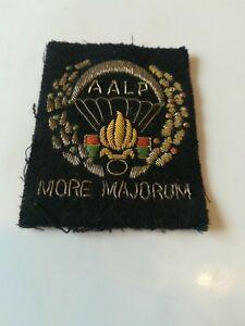 Insigne tissu Légion étrangère MORE MAJORUM AALP 2 REP