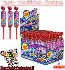 Chupa Chups Melody Pops Whistle Lollypops Make Music Strawberry Flavour