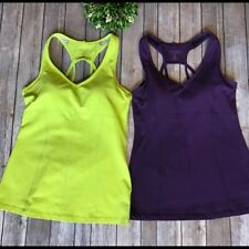 Athleta Women's Small Padded Tank Top Bundle Two Sleeveless Exercise Shirts 440
