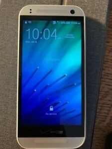 HTC One M7 16GB Silver Unlocked Verizon 4G LTE