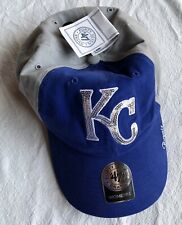 WOMEN'S KANSAS CITY KC ROYALS BASEBALL CAP HAT BRAND NEW NWT 47 FORTY SEVEN BLUE