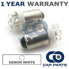 2x Xenon Bianco BAX9S H6W 434 finestra laterale Upgrade 7 DOME LED Lampadine a LED
