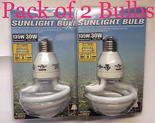 2 PACK - 135W 6500K Natural Soft White Light Bulb/s CFL Photography Box Tent