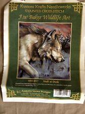Wolf at Dusk Cross Stitch Kit
