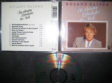 RARE CD Die Schönsten Liebeslieder Der Welt - Roland Kaiser Hansa 1985