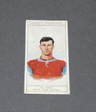 CIGARETTES CARD OGDEN'S 1926 FOOTBALL CAPTAINS 43 KAY WEST HAM UNITED HAMMERS
