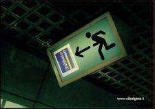 cartolina pubblicitaria PROMOCARD n.2716 CIBALGINA DUE FAST NOVARTIS