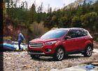 2018 Ford Escape 32-page Original Car Sales Brochure Catalog
