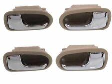 MAZDA 626 Protege 93-03 Front Rear RH LH Inner Chrome & Beige Door Handle 4 set